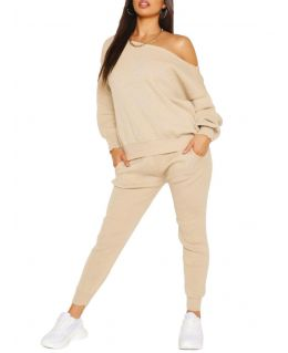 Womens Knitted suit 2 piece loungewear, UK Sizes 8 to 14