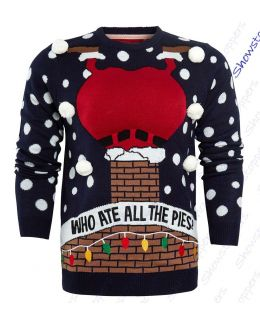Christmas Pies Santa Jumper