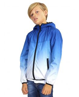 Boys Track Wind Runner 2 Tone Jacket, Childrens Ages 7 to 13 Years