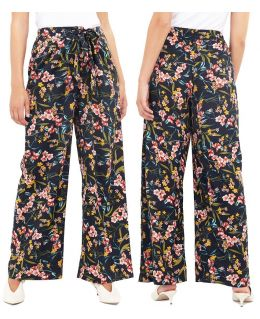 Floral Plazzo Trousers