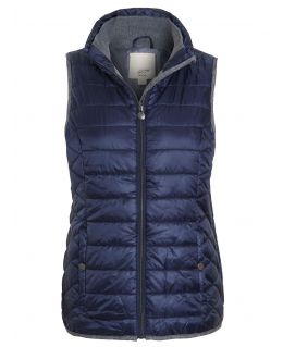 Womens Quilted Bodywarmer Jacket, UK Sizes 10 to 18