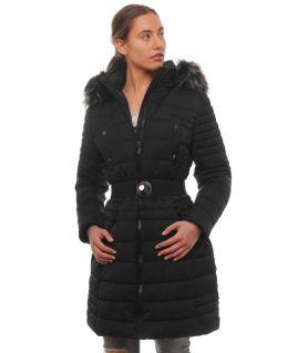 Womens Faux Fur Parka Coat, Size 10 to 20