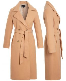Womens Wool look Trench coat. Uk Sizes 8 to 16