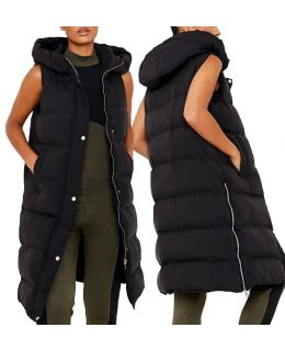 Womens Longline Bodywarmer Jacket