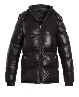 Boys Padded Mid Length Puffer Coat, Ages 7 to 13