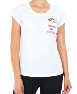 Womens Curve T Shirt Kitten Plus Size 16 18 20 22 24 Casual Top