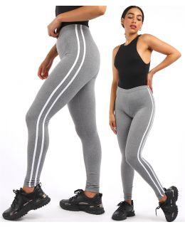 Stretchy Striped Leggings, UK Sizes 8 to 14