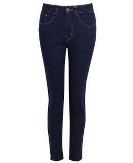 Womens Stretch Denim Slim Jeans, Indigo, UK Sizes 10 to 22