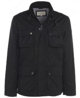 Fully Lined Black Cotton Jacket