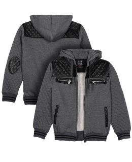Boys Quilted Sweat jacket, Ages 4 to 16 Years