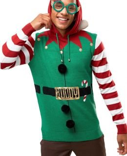 Christmas Red Jingle Bell Jumper