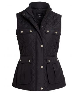Diamond Quilted Gilet Bodywarmer, UK Sizes 8 to 16