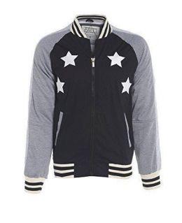 Men's D-Struct Designer Bomber Varsity Jacket Size S M L XL