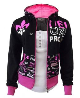 NEW Women TRACKSUIT Girls Hoodie POCKET Ladies SUIT Trousers Size 8 10 12 14