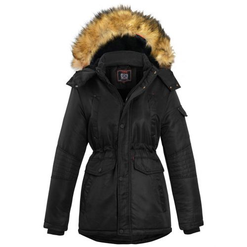SS7 Boys Padded Parka Coat Ages 5 7 8 9 10 11 12 13 16 Years