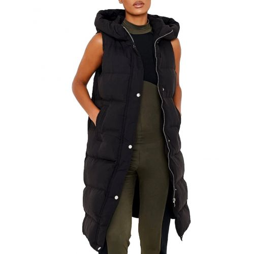 SS7 Womens Gilet Bodywarmer Longline Waistcoat Jacket