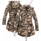 Camouflage Mac Trench Coat