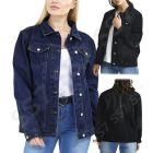 Boyfriend Loose Fit Denim Jacket (Curve)