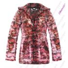 Womens Rain Mac Waterproof Ladies Raincoat Jacket Size 8 10 12 14 16